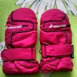Теплые краги,рукавички для девочки 2-4 года