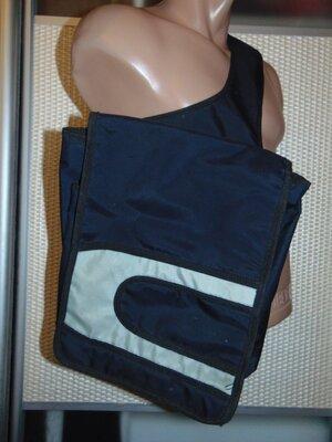 Фирменная стильная сумка сумочка мужская через плечо concord конкорд