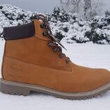 Мужские зимние ботинки Dockers оригинал натуральный нубук мех 41-47