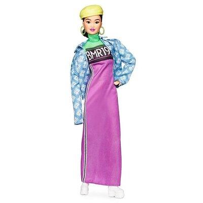 Кукла барби азиатка Бмр Barbie BMR 1959 Fully Poseable Fashion neon dress