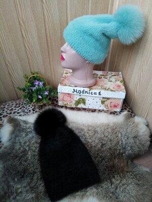Женская моделируемая шапка чулок 3 цвета