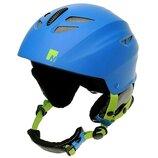 Новый горнолыжный шлем nevica meribel детский синий на ог 50-54см