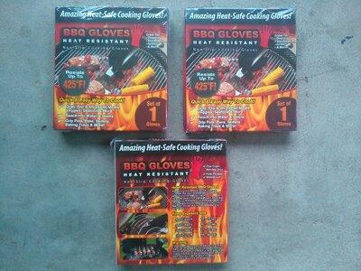 Рукавиці термостійкі BBQ Gloves Heat Resistant для барбекю перчатки термостойкие
