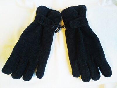 Перчатки зимние унисекс флисовые спортивные Thinsulate размер M