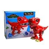 Динозавр интерактивный ходит, машет хвостом, открывает и закрывает челюсть, рычит