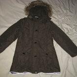 Куртка парка зимняя X-Mail Германия на 8 лет на рост 128 см, .Зимняя, Куртка Новая Куртка на утепл
