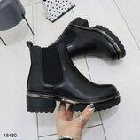 18480 ботинки женские, ботинки демисезонные, ботинки зимние, ботинки на флисе