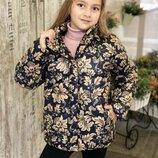Стильная демисезонная куртка на девочку