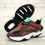 Женские кроссовки Nike M2K Tekno. Brown