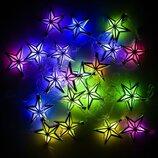 Гирлянда светодиодная 20 лампочек, 5 м, мультиколормультиколор
