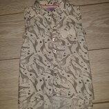 Лёгенькая блуза F&F на 1,5-2,0 года