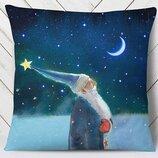 Прекрасная подушка З Новим роком