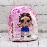 Детский рюкзак Лол 19 16 11