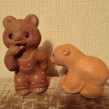Игрушки Ссср резиновые мишки