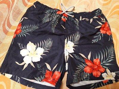 Фирменные пляжные шорты Primark р.46