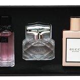 Подарочный набор парфюмов Gucci 3 в 1 по 30 мл
