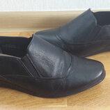 Туфли кожа р.40-26см стелька