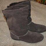 Новые зимние сапоги женские Land's end 28 см 43 размер кожа Англия