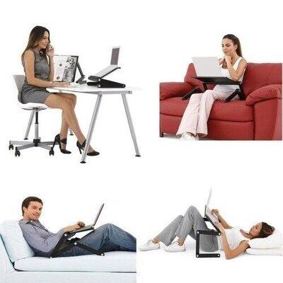 Столик для ноутбука с охлаждением Laptop Table T8
