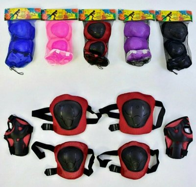 Наборы детской защитной экипировки для катания на роликах
