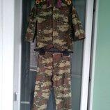 Стильный камуфляжный костюм маленькому генералу, р.98 мальчику 2-3г, милитари