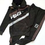 Стильный модный спортивный костюм Fendi
