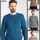 Теплый осенне-зимний мужской джемпер, Мужской свитер вязаный, Чоловічий теплий светр