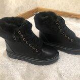 Шикарные женские зимние ботинки страна производитель Польша размер 36-41