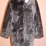 Італійське пальто з астрагана Adamo оверсайс