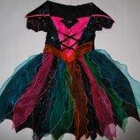 Платье карнавальное для девочки 7-8 лет M&S