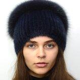 Женская норковая шапка Стрекоза 117