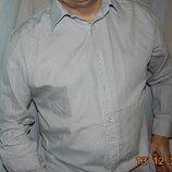 Стильная фирменная нарядная рубашка бренд New Lingwood.л-хл .42 .