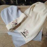 Комплект шапка і шарф, набор шапочка и шарфик, 2 роки, 3 роки
