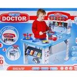 Набор доктора столик Лікарський набір зі столиком в коробці W046