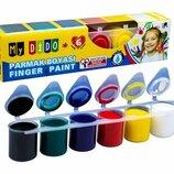 Пальчиковые краски My Dido , 6 цветов SUDOR MY88