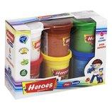 Тесто игровое Heroes 6 цветов E ERN-511