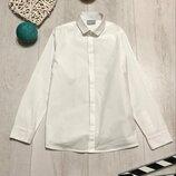 Нарядная белая рубашка 8 лет
