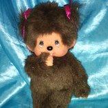 винтажная коллекционная кукла малышка Обезьянка Monchhichi Sekiguchi оригинал 19 см