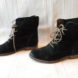 Замшевые деми-ботинки Oxmox р.38--24,7см