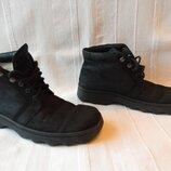 Утепленные кожаные ботинки Gabor р.38--25,5см