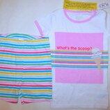 пижама футболка шорты Children's Place на девочку 4 года