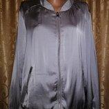 Стильная женская легкая куртка, ветровка, олимпийка 18 р. Next