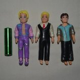Шикарные фирменные фигурки мальчик мальчики мужчины polly pocket Mattel Полли Покет