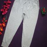 Суперовые трикотажные меланжевые стрейчевые спортивные штаны с манжетами TCM Tchibo.