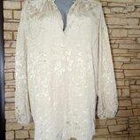 Красивая блуза из натуральной ткани,вискозы,ньюанс