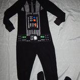 Слип пижама флисовая человечек домашний кигурими на мамльчика 8-9 лет Star Wars