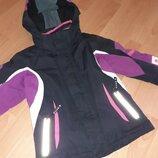 Фирменная лыжная курточка для девочки 7-9 лет