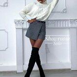 Стильные юбка-шорты