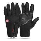 Спортивные сенсорные перчатки Windstopper мужские женские