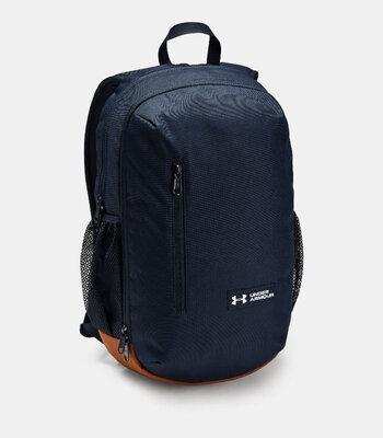 Рюкзак Under Armour UA Roland Backpack Navy Оригинал Городской Спортивный Синий цвет